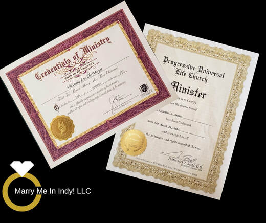 Ordination certificates