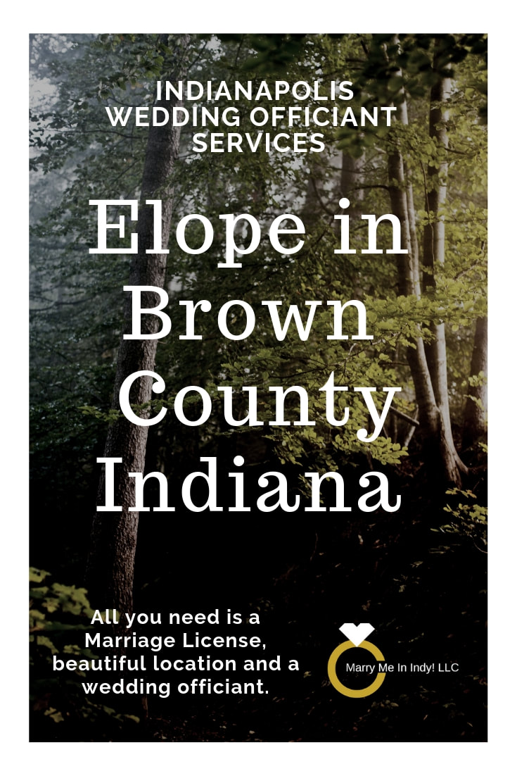 Brown County Elopement Wedding Officiant