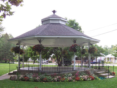 Falls Park Gazebo, Pendleton, IN
