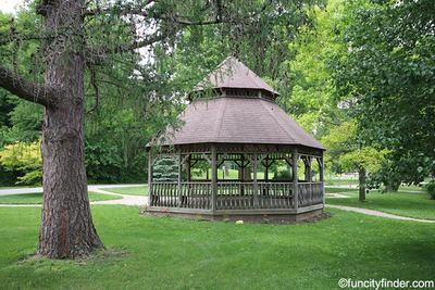 Gazebo at Ellis Park, Danville, IN