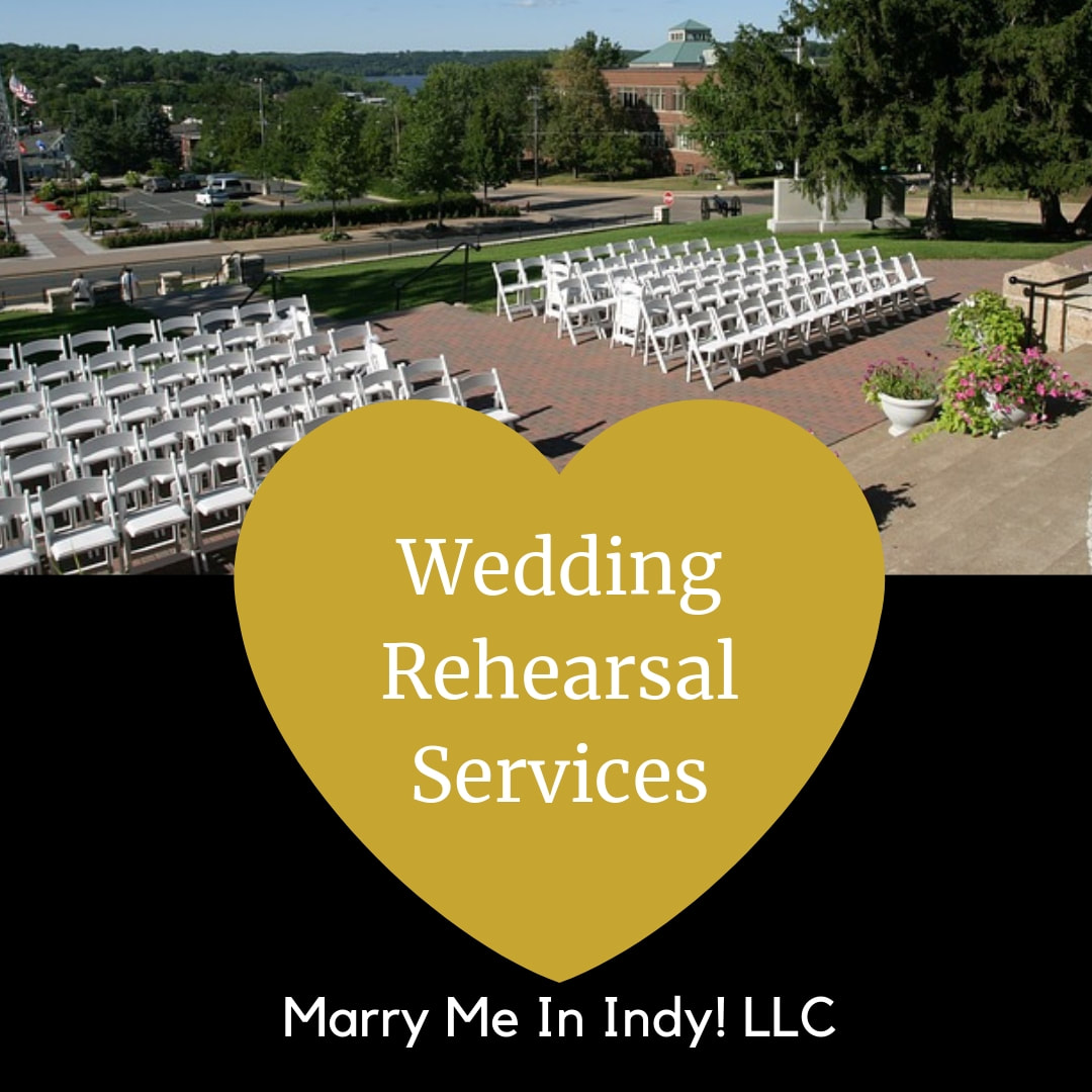 Wedding Rehearsal Services. Marry Me In Indy! LLC Indianapolis Wedding Officiant Services
