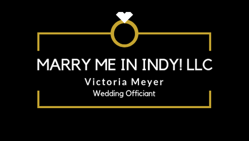 Marry Me In Indy! LLC Logo