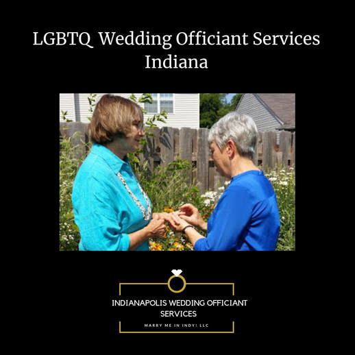 LGBTQ Wedding Officiant Indianapolis