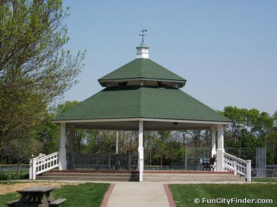 Gazebo at Lions Park, Zionsville, IN